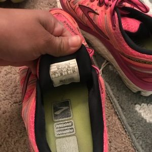 Brooks Trancends running shoe